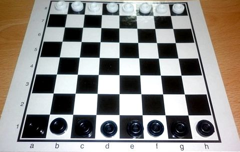 Правила игры в чапаева шашки пальцами две шашки