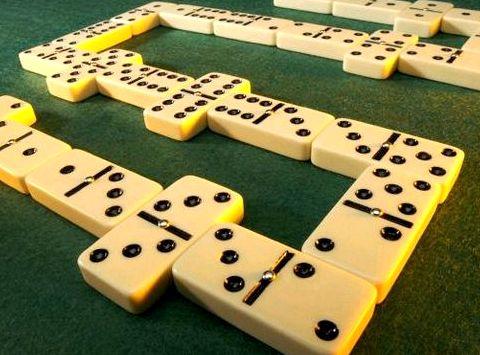 Правила игры в домино вдвоем Если она
