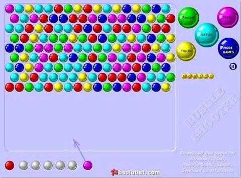 шарики онлайн во весь экран
