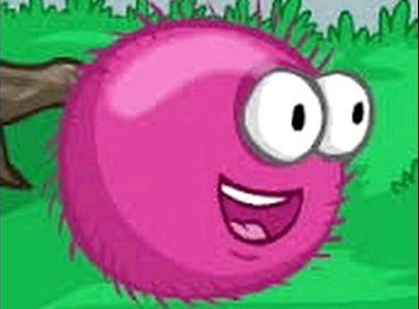 Розовый шарик пушистик играть онлайн бесплатно