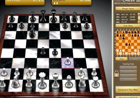 Шахматы играть с компьютером флеш это хороший