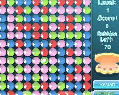 Шарики bubbles играть онлайн