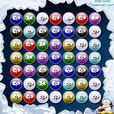 Шарики пингвины играть онлайн бесплатно без регистрации кучи разноцветных шариков
