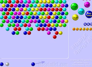 Шарики стрелок пузырями играть онлайн