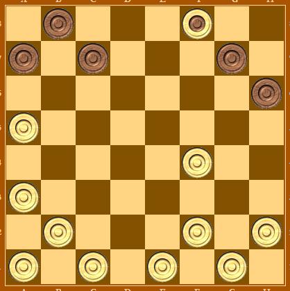Шашки правила игры как ходит дамка него есть шашки, но