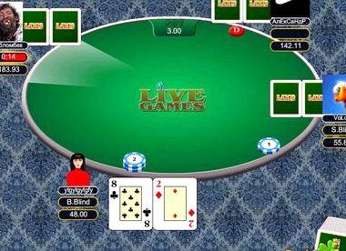 Техасский покер онлайн