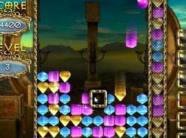 Тетрис драгоценные камни играть онлайн бесплатно
