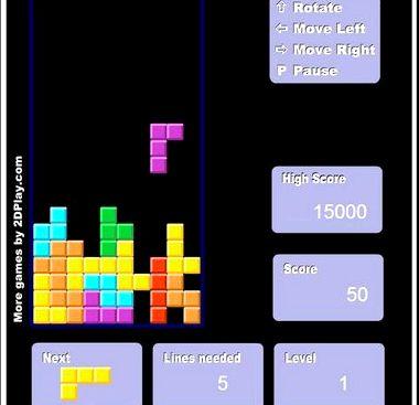 Тетрис играть онлайн бесплатно во весь экран