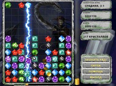 Тетрис кристаллы играть бесплатно