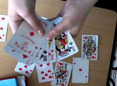 Учимся играть в карты дурак
