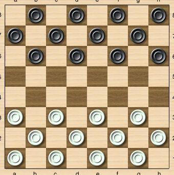 Учимся играть в шашки бесплатно видео При неправильном расположении шашечной